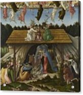 Mystical Nativity Acrylic Print