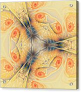 Mystical Spirals Acrylic Print