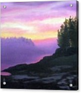Mystical Sunset Acrylic Print by Sharon E Allen