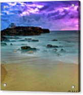 Mythical Ocean Sunset  Acrylic Print