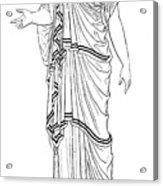 Mythology: Hera/juno Acrylic Print