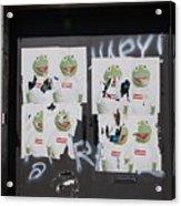 N Y C Kermit Acrylic Print