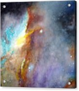 N11b Large Magellanic Cloud Acrylic Print