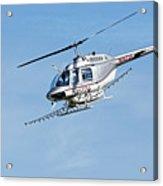N16726 -- Bell 206b Jetranger IIi In Templeton, California Acrylic Print