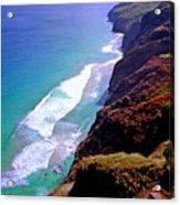 Na Pali Coast Trail Acrylic Print