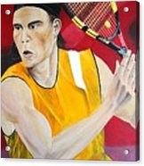 Nadal Acrylic Print by Flavia Lundgren