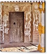 Nag Temple Doorway - Huri India Acrylic Print