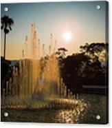 Nagasaki Peace Park Fountain Acrylic Print