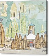 Nagesh Jyotirling Acrylic Print