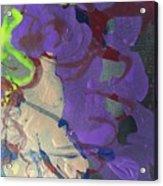 Nail Polish Abstract 15-r11 Acrylic Print