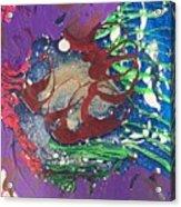 Nail Polish Abstract 15-s11 Acrylic Print
