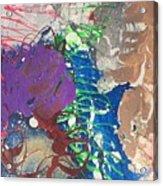 Nail Polish Abstract 15-t11 Acrylic Print