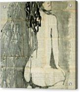 Naked Figure.  Acrylic Print