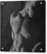 Naked Man Acrylic Print
