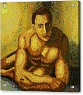 Naked Acrylic Print