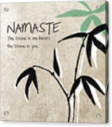 Namaste Acrylic Print