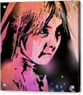 Nambe Girl Acrylic Print