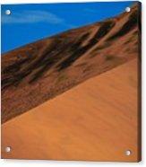 Namibia Sand Dune Acrylic Print