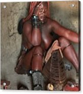 Namibia Tribe 1 Acrylic Print