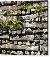 Nan Madol Wall2 Acrylic Print