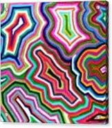 Nanas Quilt Acrylic Print