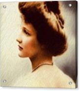 Nancy Witcher Langhorne Astor Acrylic Print