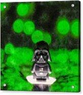 Nano Darth Vader - Da Acrylic Print