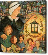 Nano Nagle, Foundress Of The Sisters Of The Presentation Acrylic Print
