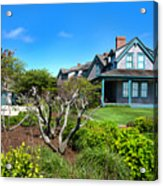 Nantucket Architecture Series 08 Y1 Acrylic Print