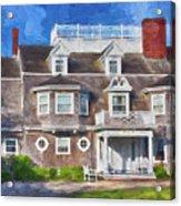 Nantucket Architecture Series 28 Acrylic Print