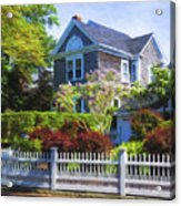 Nantucket Architecture Series 7 - Y1 Acrylic Print
