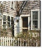 Nantucket Cottage Acrylic Print