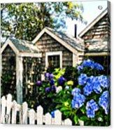Nantucket Cottage No.1 Acrylic Print