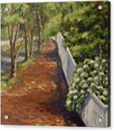 Nantucket Fence Number Three Acrylic Print