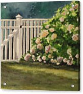 Nantucket Fence Number Two Acrylic Print