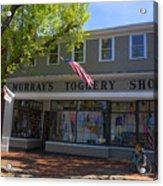 Nantucket Murrays Toggery Shop - Y1 Acrylic Print