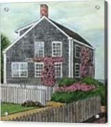Nantucket Roses Acrylic Print