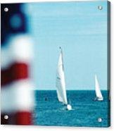 Nantucket Sailing Acrylic Print