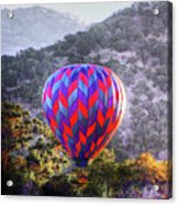 Napa Valley Morning Balloon Acrylic Print