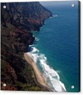 Napali Cliffs Acrylic Print