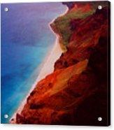 Napali Coast Acrylic Print