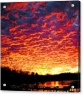 Napalm Clouds Acrylic Print