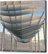 Napier Pier 2016 Acrylic Print