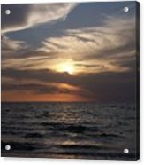 Naples Sunset 0043 Acrylic Print