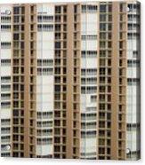 Naples Windows Acrylic Print