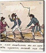 Napoleon: Russian Campaign Acrylic Print