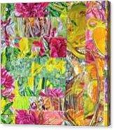 Naptime Collage 08 Acrylic Print