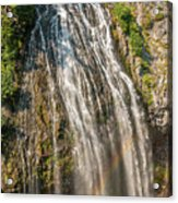 Narada Falls Rainbow Acrylic Print