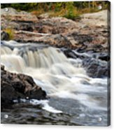 Naraguagus River Acrylic Print by Steven Scott