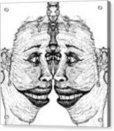 Narcissistic Acrylic Print